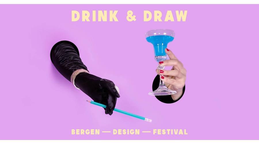 Bergen Design Festival: Drink & draw (venteliste)