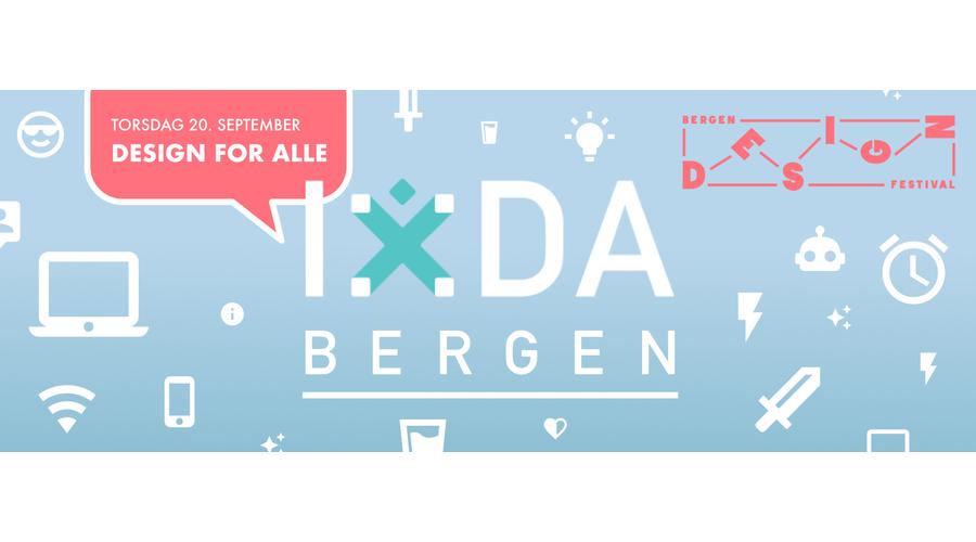 IxDA meetup: Design for alle