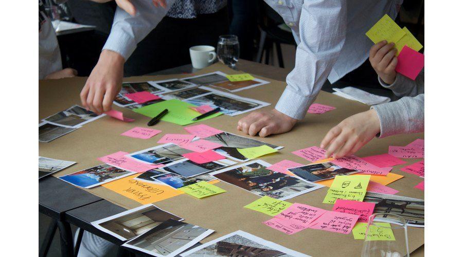 Design Thinking på 50 minutter (OPPlev Marineholmen)