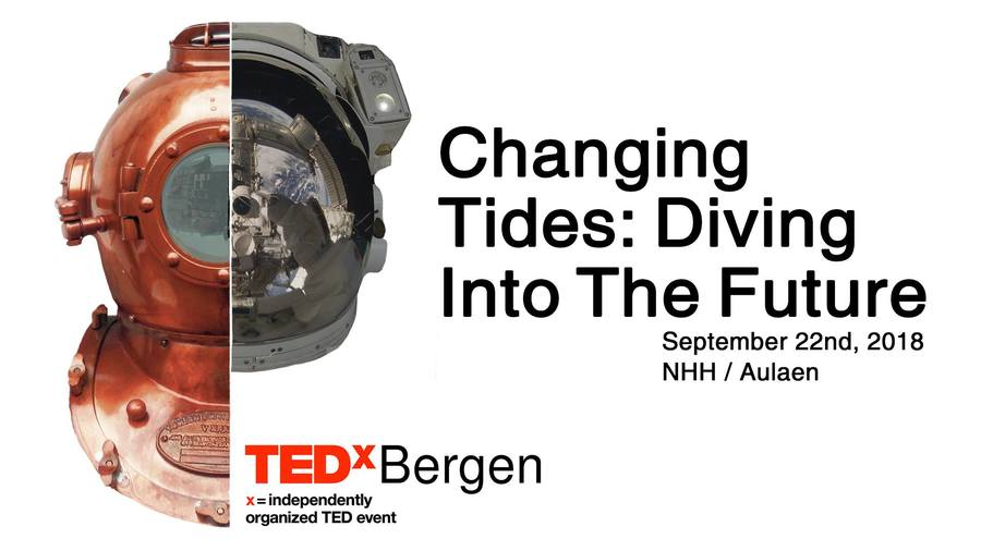 TEDxBergen 2018 - Changing Tides: Diving Into The Future