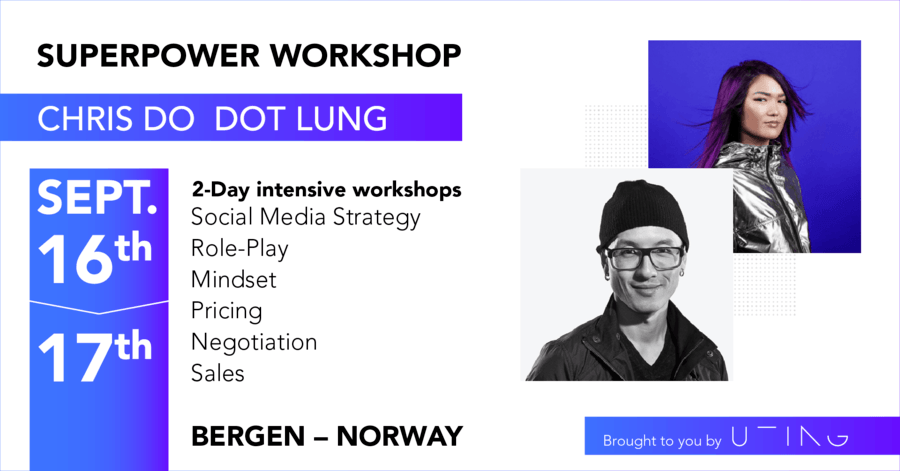 Superpower Workshop With Chris Do & Dot Lung