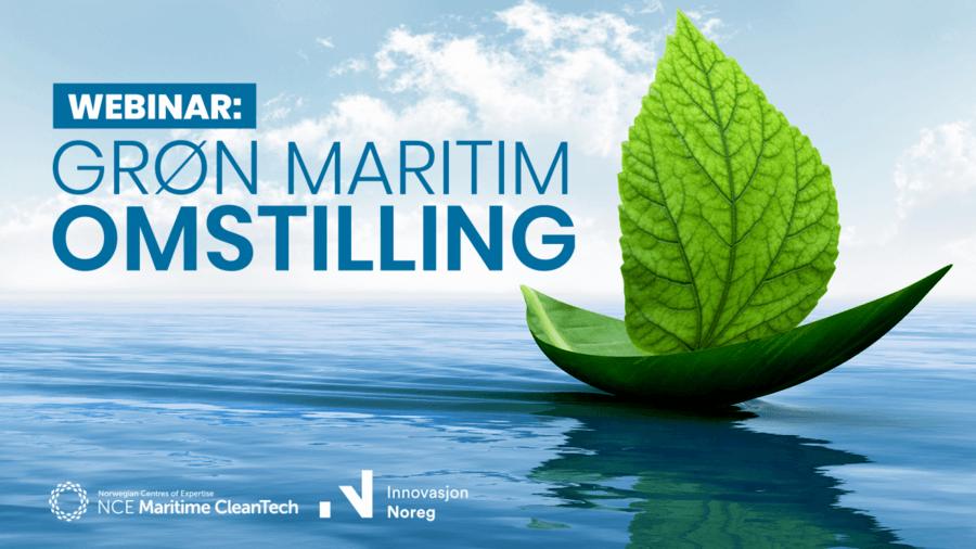 Grøn maritim omstilling med Innovasjon Norge